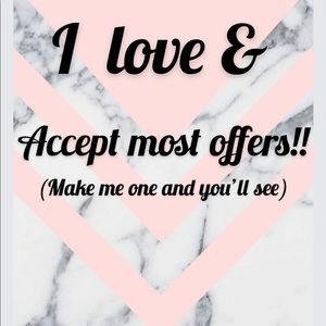 Make me an offer on anything you like ❤️❤️❤️